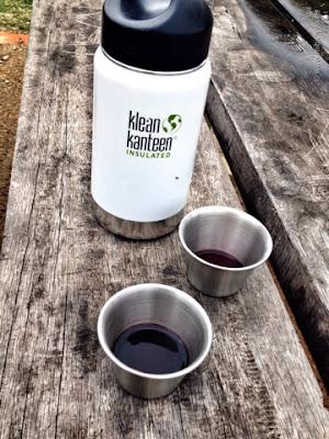 Klean Kanteen, Termo Blanco y chupitos de vino