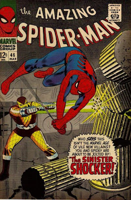 Amazing Spider-Man #46, the first appearance and origin of the Shocker
