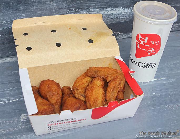 BonChon Chicken Combo A | www.thepeachkitchen.com