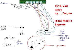 Nokia 1661 lcd ways full jumper