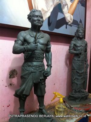 patung clay