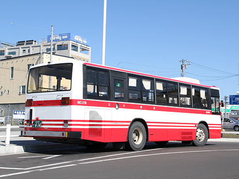 宗谷バス 31系統 ・616 リア
