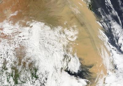 Dust Storm - Australia (Sept. 2009)