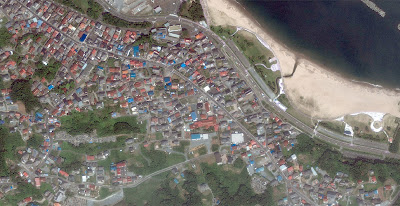 Gallery Photos of Japan Tsunami 11 March, 2011. Complete!!! - Before and After Tsunami