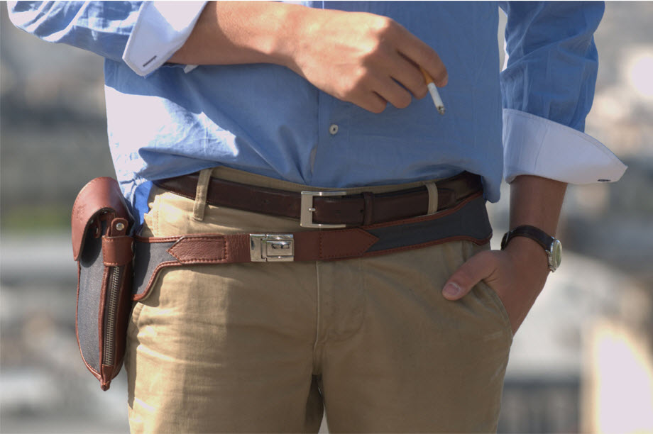 The Holster Belt [men's fashion]