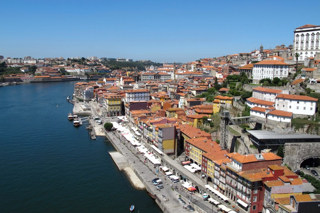La ribeira, Oporto