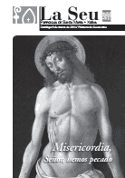 Hoja Parroquial Nº539 - Misericordia, Señor, hemos pecado. Iglesia Colegial Basílica de Santa María de Xàtiva - Sexto aniversario de la erección de la colegiata.
