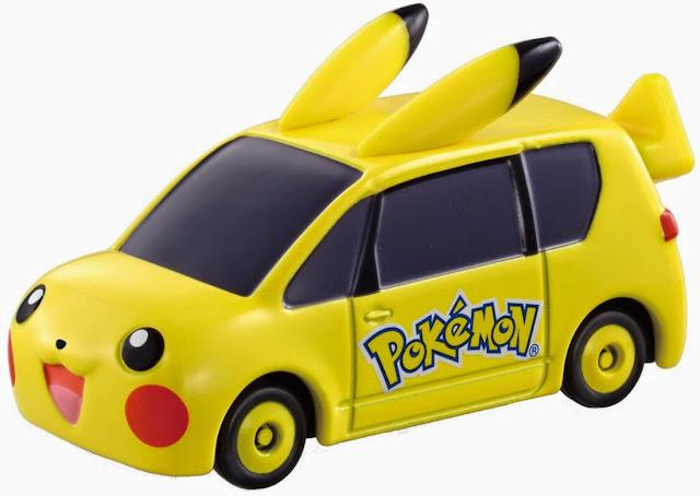 Dream Tomica 143 Mini Pikachu Car với kiểu dáng và màu sắc rất dễ thương thu hút các bạn nhỏ