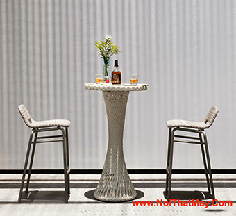 Outdoor Wicker Bar Set Minh Thy 829