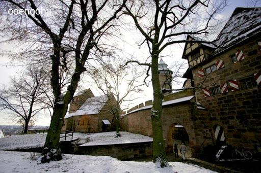 ニュルンベルクの家々