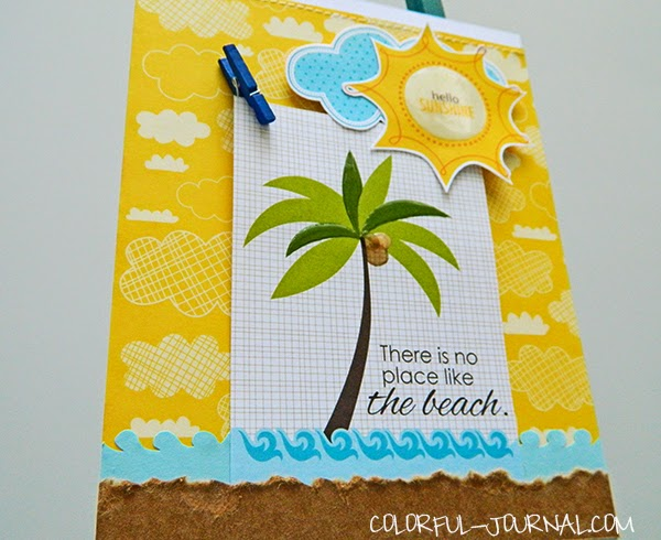 summer beach card bella blvd sand & surf