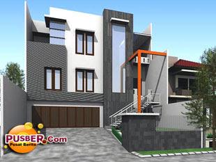 Model rumah minimalis modern - pusber.com