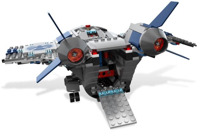 6869 レゴ クインジェットでの空中バトル