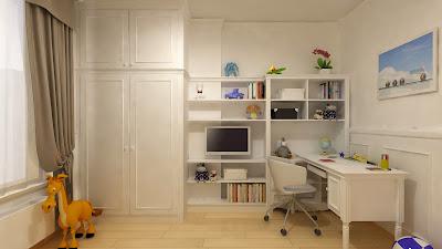 Mieszkanie - Sypialnie - Rodziców i Dziecka