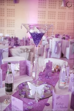 Location centre de table mariage Vase martini copyright www.feedeleffet-deco.com