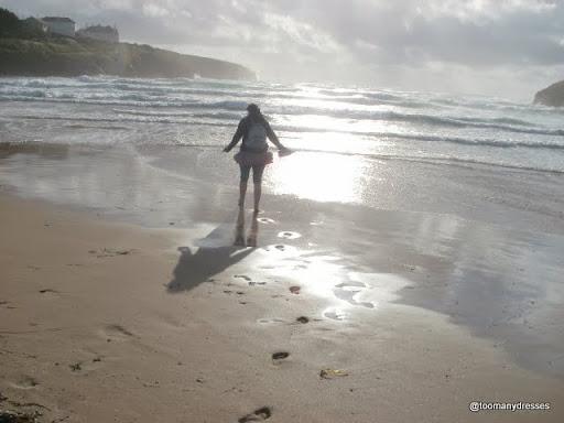 Waves at Porthcothan