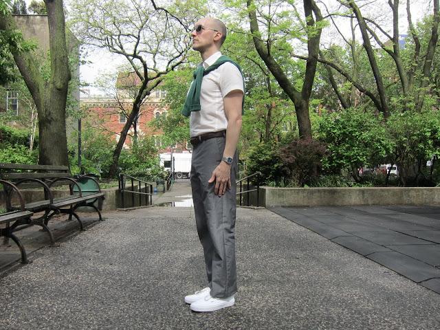 cotton mohair suit pants