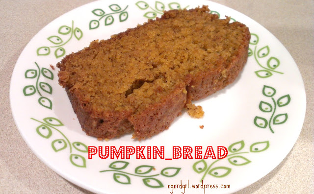 Pumpkin Bread by ngnrdgrl.wordpress.com