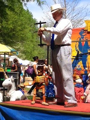 Atlanta dogwood festival the daily april n ava peter hart marionette puppet show georgia