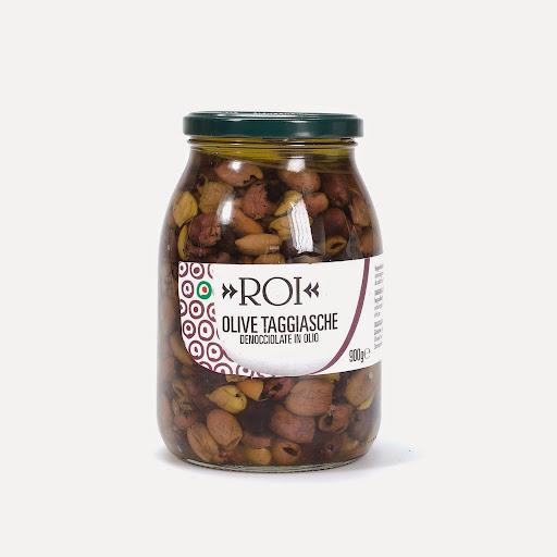 Olive taggiasche denocciolate Vasetto da gr. 900