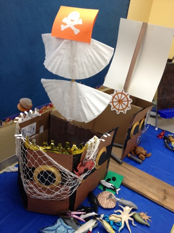 Preschool ideas for 2 year olds preschool pirate ship project for Ez craft usa vinyl