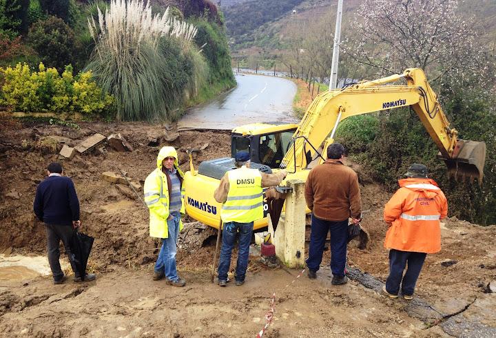 Intervenção da Câmara de Lamego restabelece circulação rodoviária na Penajóia