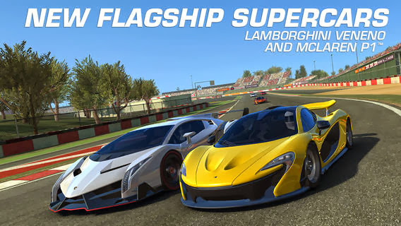 Real Racing 3 v2.3.0 for iPhone/iPad