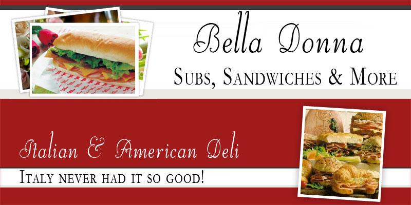 Italian Deli Austin Bella Donna Subs Logo