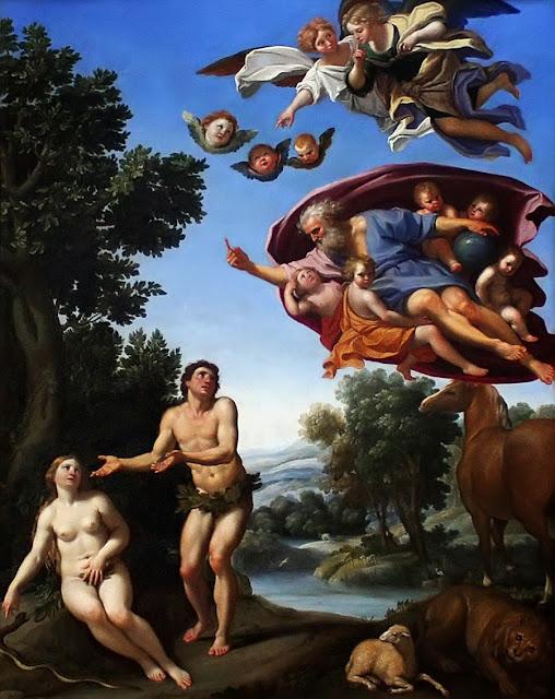Domenichino - Adam and Eve