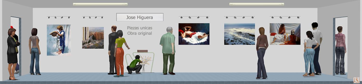 Sala de exposición virtual de Pinturas de Jose Higuera