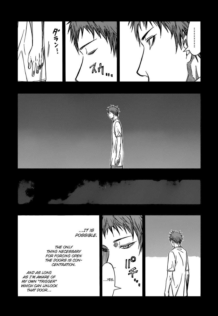 Kuroko no Basket Manga Chapter 260 - Image 02