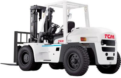 Xe nâng 8 tấn TCM Unicarriers FD80Z8