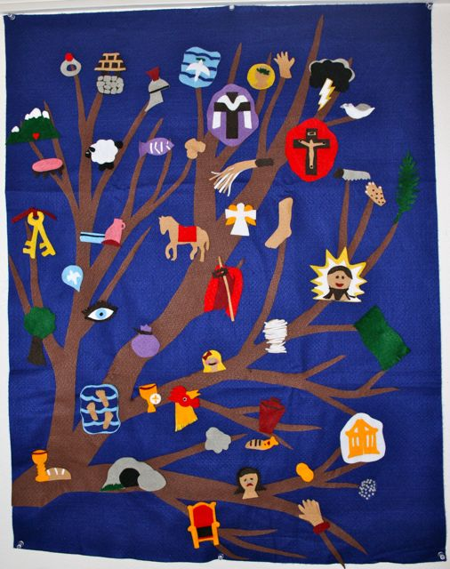 The Jesus Tree Is A Wonderful Way To Do Lenten Bible Study With Children Every Day During Lent Our Look Forward Reading Story For