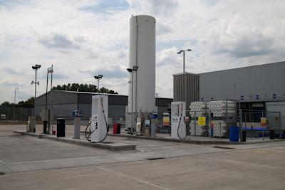 GB. Stacja tankowania bioLNG w Wielkiej Brytanii