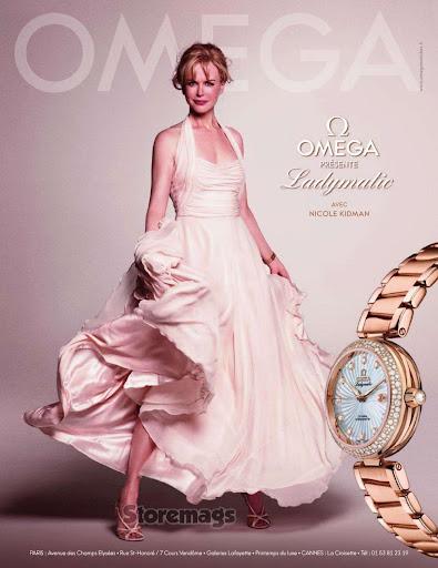 Omega, campaña primavera verano 2012