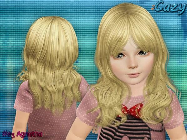 Peinado infante sims 3 (de Cazy)