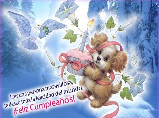 Felicitaciones de cumpleaños para facebook