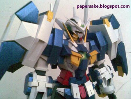 Avalanche Exia Gundam Papercraft