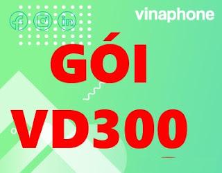 Gói VD300 Vinaphone Nhận 100 phút Ngoại mạng, Miễn phí Nội mạng, 11 GB Data