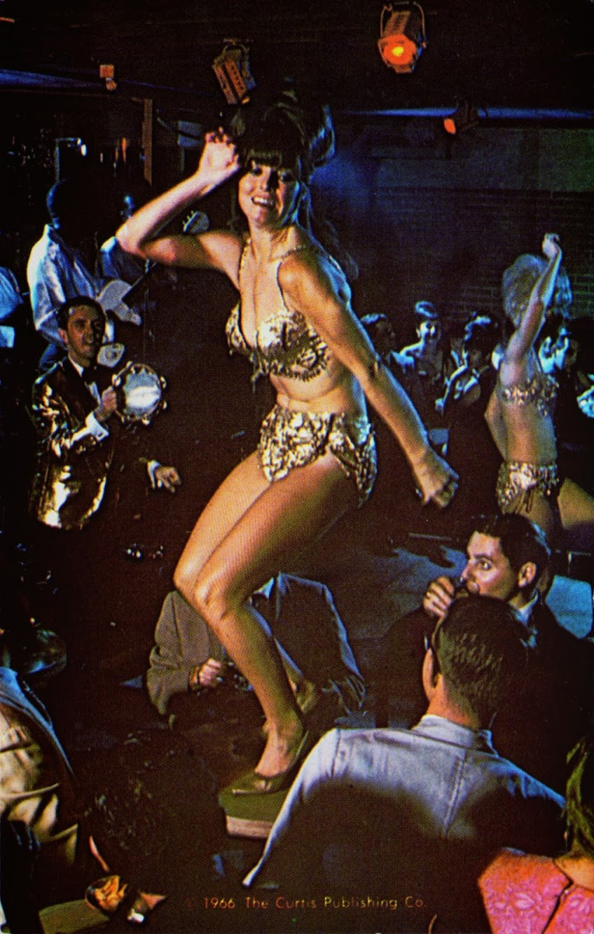Vintage Go-Go Dancer, 1966