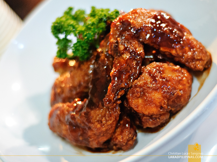 B. Wings' Black Mamba at Foodgasm III in Mercato Centrale