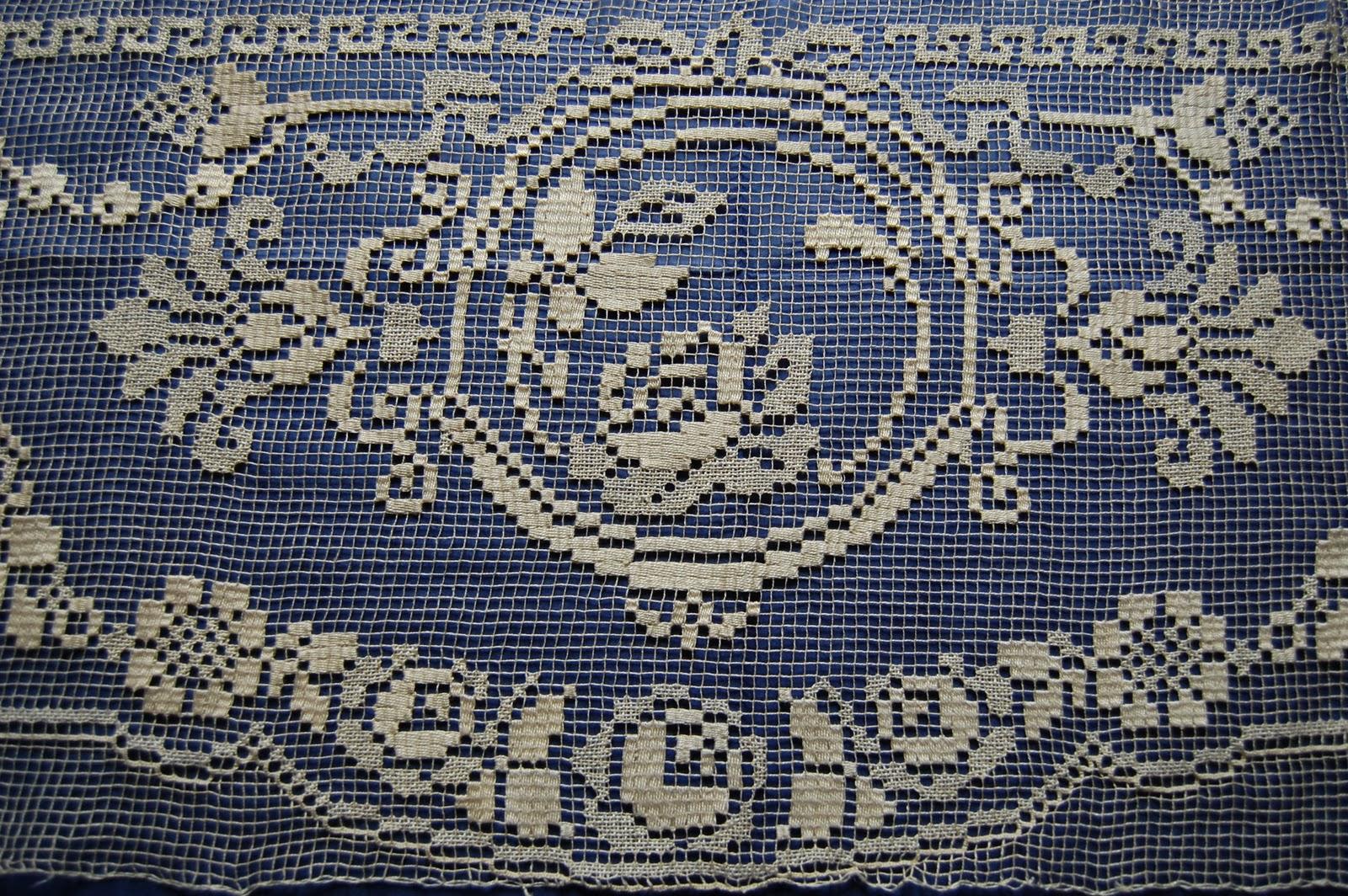 cose di lino: ANCORA FILET