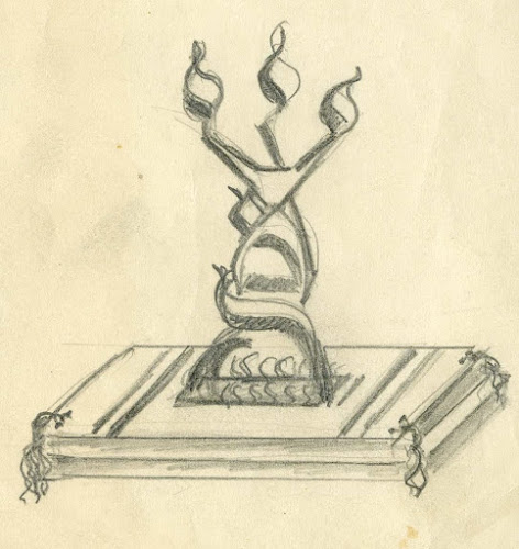 Eternal Flame:  Monument to the Six Million