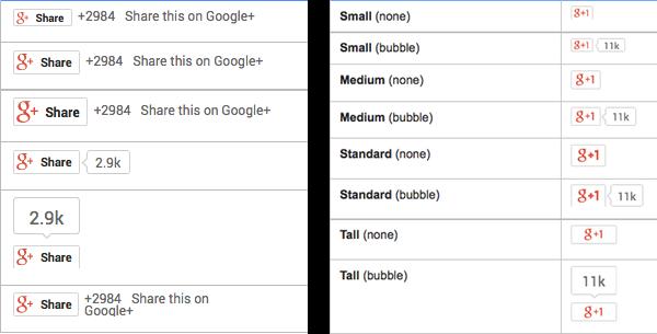 Google+-Button