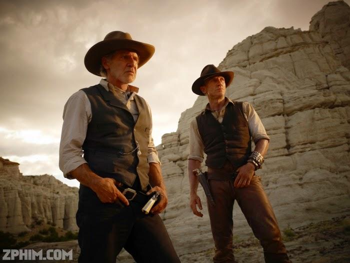 Ảnh trong phim Cao Bồi Và Quái Vật Ngoài Hành Tinh - Cowboys And Aliens 1