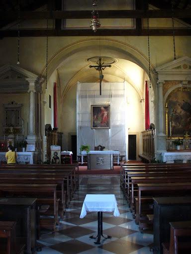 L'interno del Santuario Madonna di Conscio