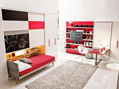 Dormitorios juveniles habitaciones infantiles y mueble for Habitaciones juveniles funcionales
