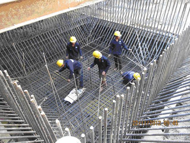 Đơn hàng thi công cốt thép cần 6 nam làm việc tại Aichi Nhật Bản tháng 08/2017