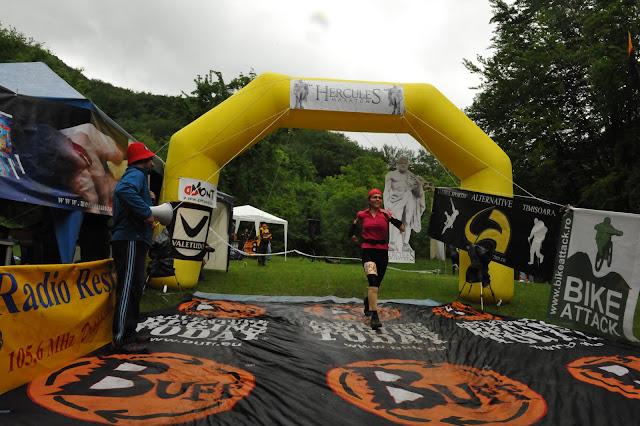 finish la semimaraton Hercules 2012