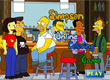 Jogos dos Simpsons Pintar Simpsons